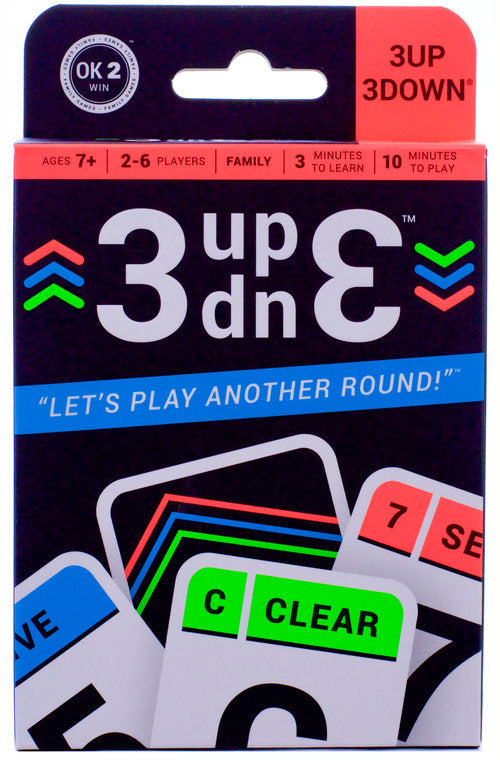3UP 3DOWN Card Game - STEAM Kids Brisbane