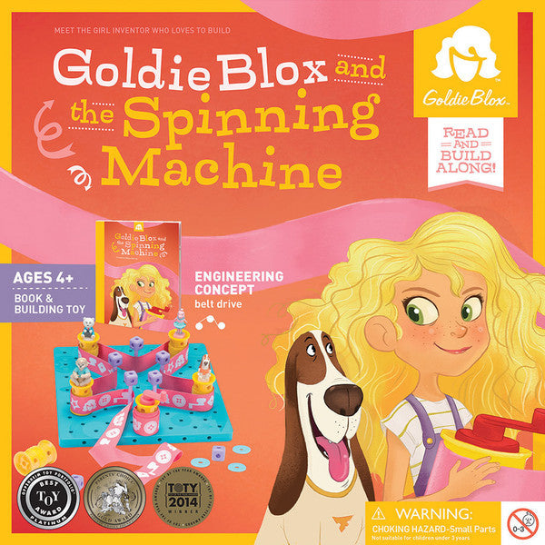 GoldieBlox and the Spinning Machine - STEAM Kids Brisbane