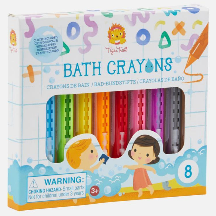 Tiger Tribe Bath Crayons - STEAM Kids Brisbane