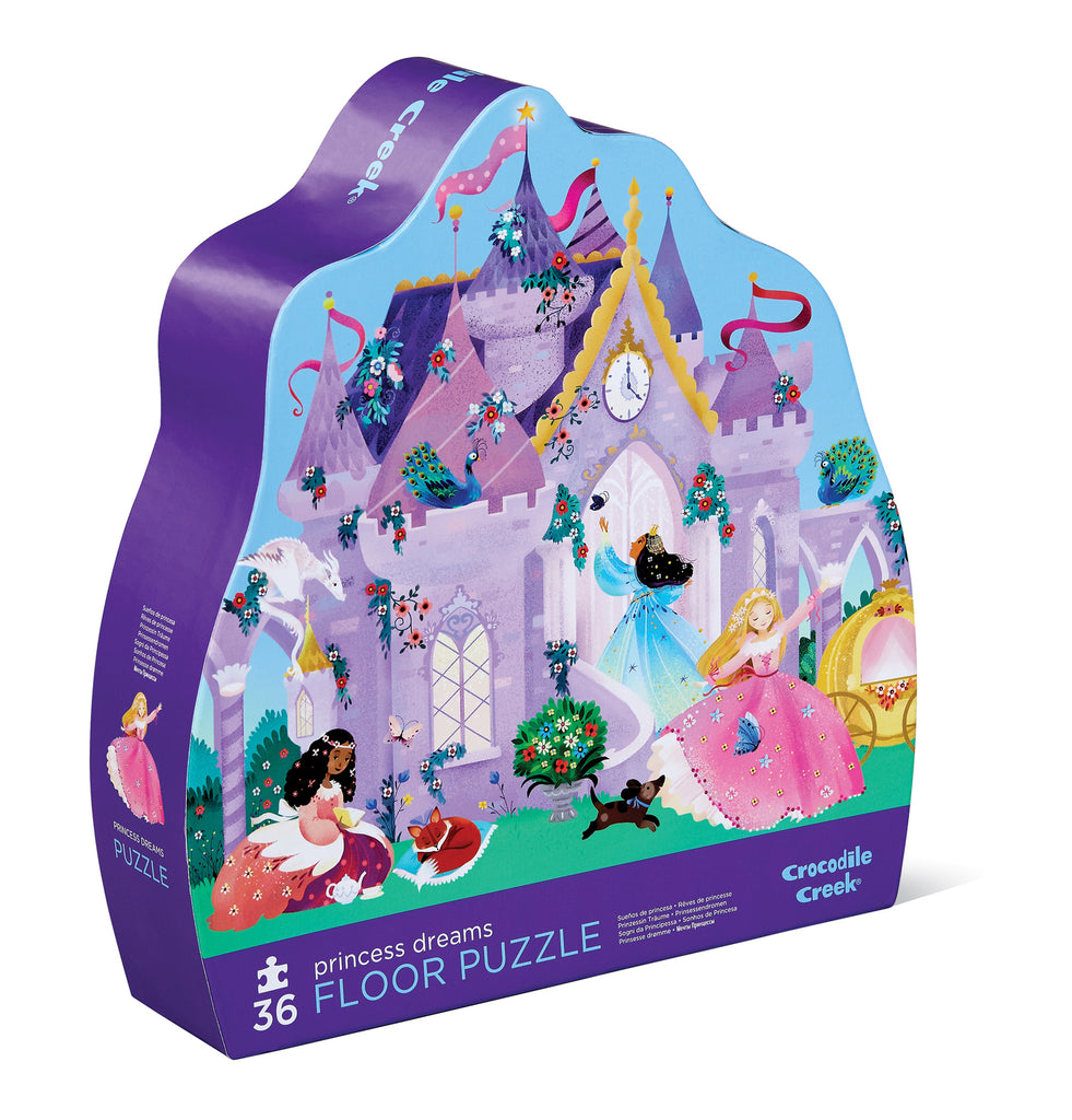 Crocodile Creek Classic Floor Puzzle 36 pc - Princess Dreams - STEAM Kids