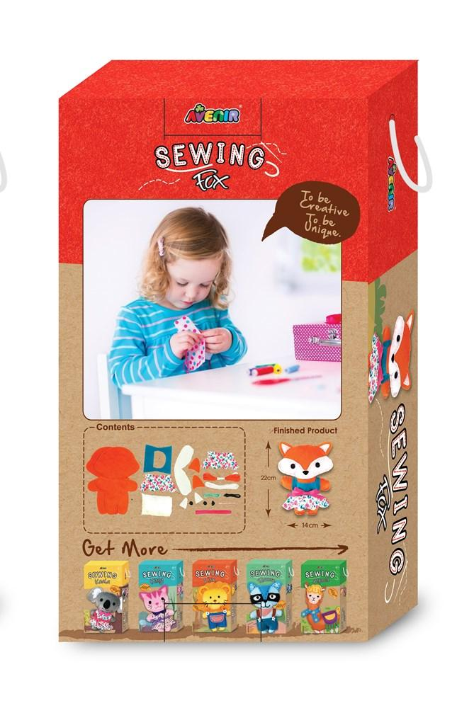 Avenir DIY Sewing Fox - STEAM Kids Brisbane