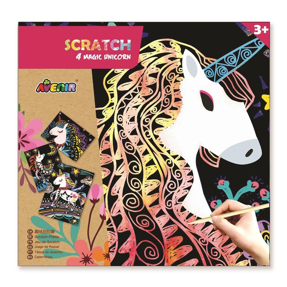 Avenir Scratch Art | Magic Unicorn - STEAM Kids