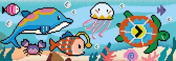 Pixelization Art - Under the Sea | Avenir | - STEAM Kids