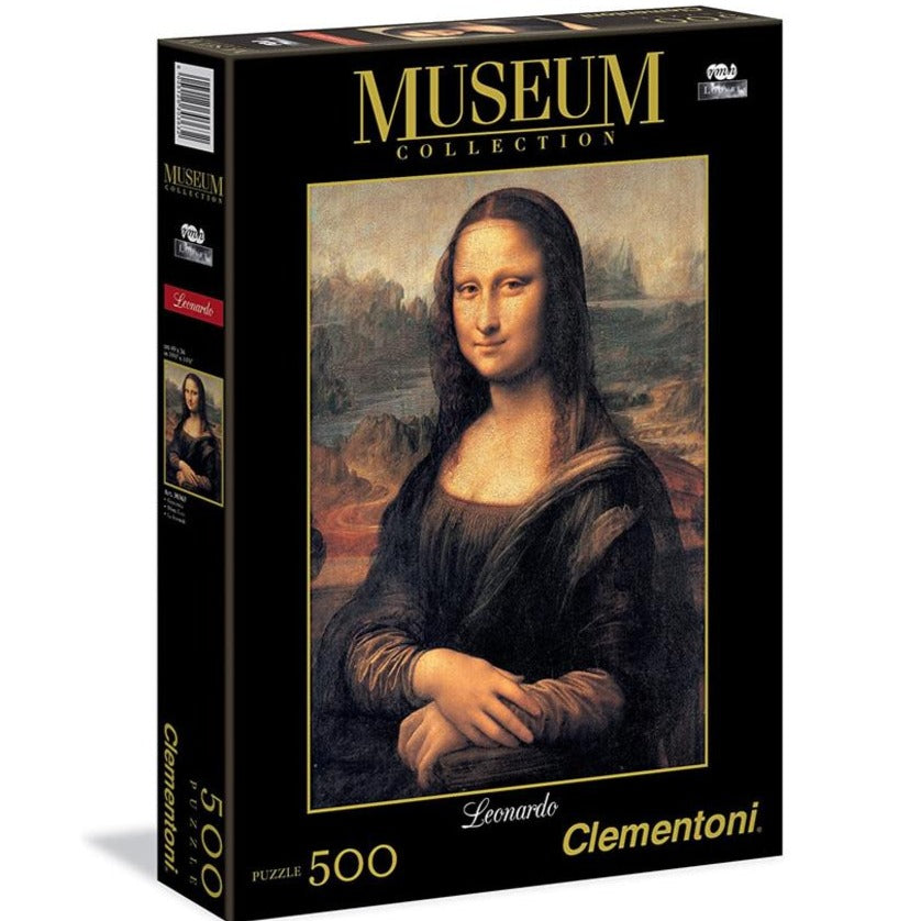 Clementoni Mona Lisa 1000 piece puzzle - STEAM Kids Brisbane