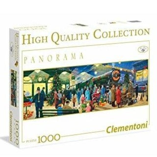 Clementoni Panorama Santa Express 1000 piece puzzle - STEAM Kids Brisbane