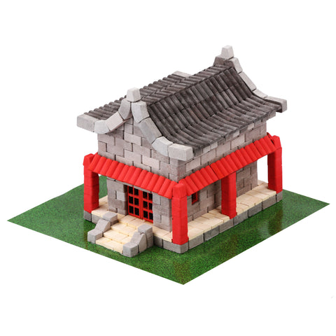 Wise Elk Mini Brick Chinese House - STEAM Kids Brisbane