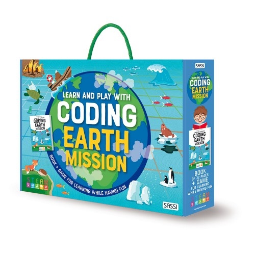 Sassi Learn and Play with Coding Earth Mission - STEAM Kids Brisbane