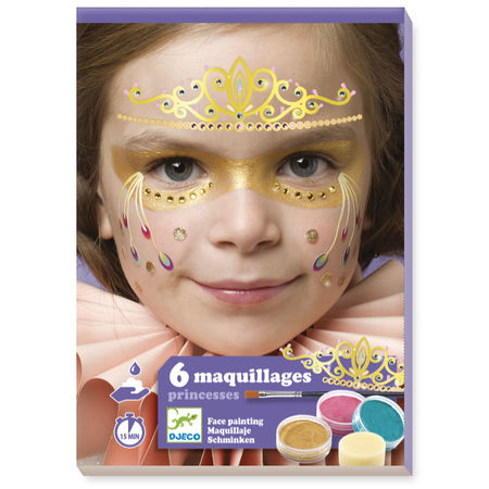 Djeco Princess Face Paint Set - STEAM Kids Brisbane