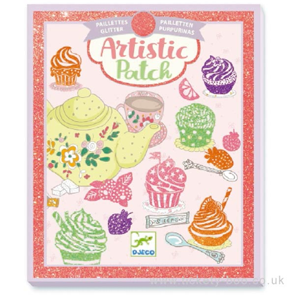 Djeco Artistic Patch Glitter Sweets - STEAM Kids Brisbane
