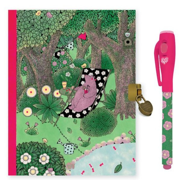 Fanny Secret Notebook with Magic Pen - STEAM Kids Brisbane