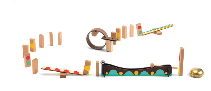Zig & Go Wooden Set - 25 piece - STEAM Kids