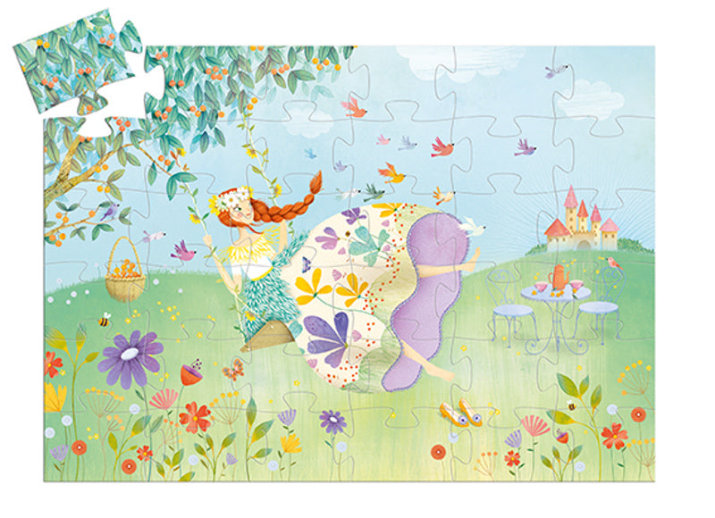 Djeco The Princess of Spring 36 Piece Puzzle - STEAM Kids Brisbane