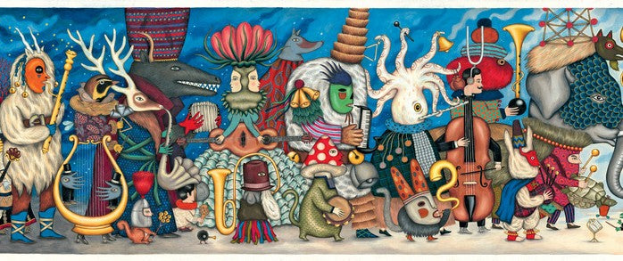 Djeco Fantasy Orchestra Gallery Puzzle 500 piece - STEAM Kids Brisbane