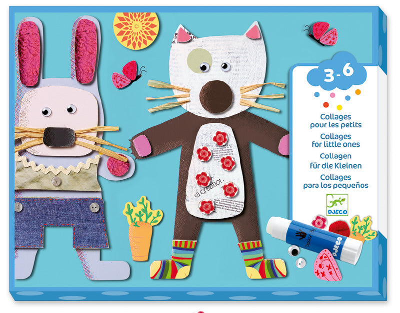 Djeco Collages for Little Ones - STEAM Kids Brisbane