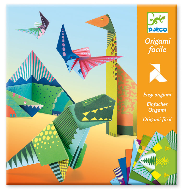 Djeco Dinosaur Origami - STEAM Kids Brisbane
