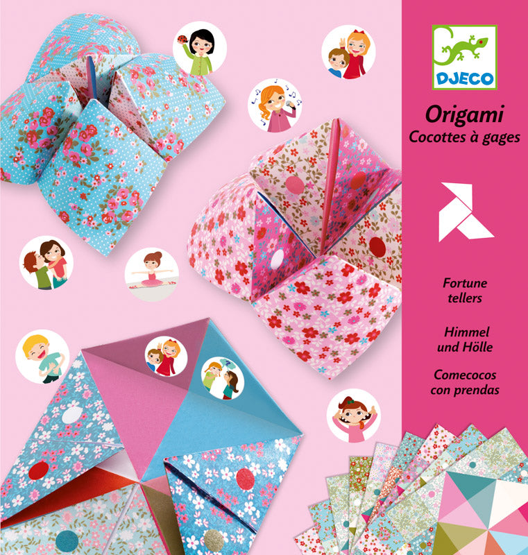 Djeco Fortune Tellers Origami - STEAM Kids Brisbane