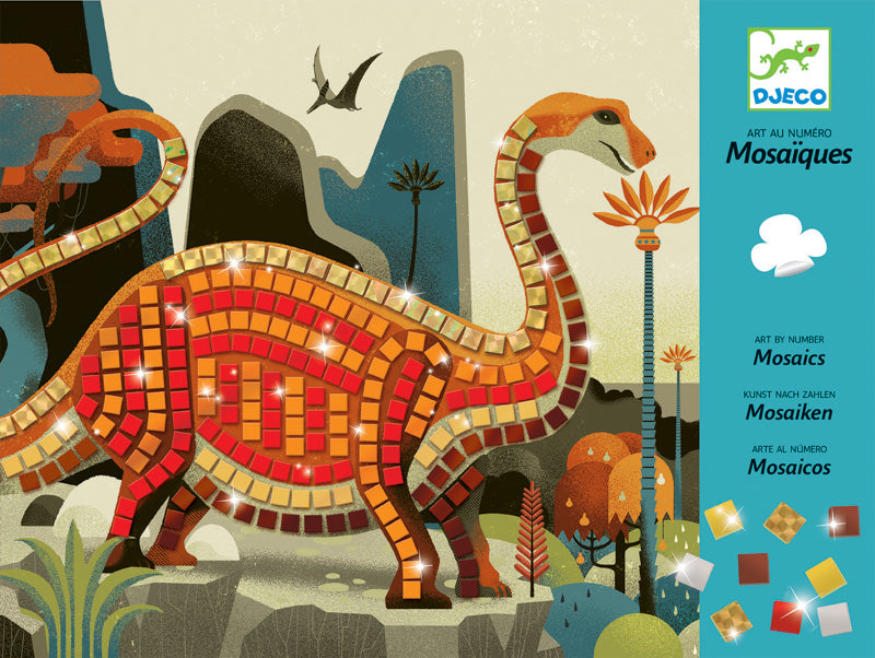 Djeco Dinosaur Mosaics - STEAM Kids Brisbane