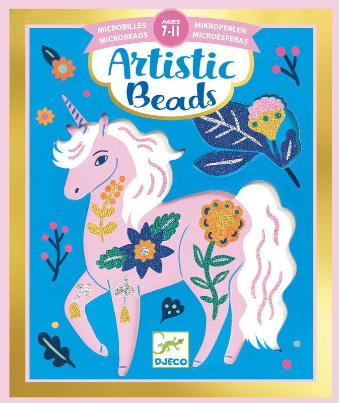Djeco Artistic Beads | Flowers and Fur | - STEAM Kids