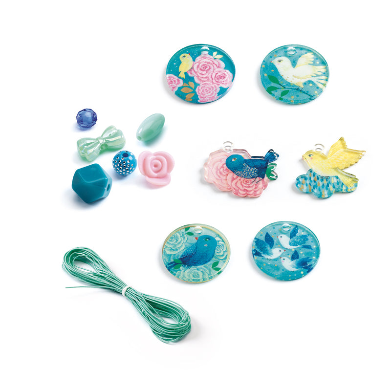 Djeco - Fancy Beads - Bird - STEAM Kids Brisbane
