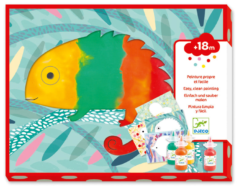 Djeco Squirt & Spread Painting Set - STEAM Kids Brisbane