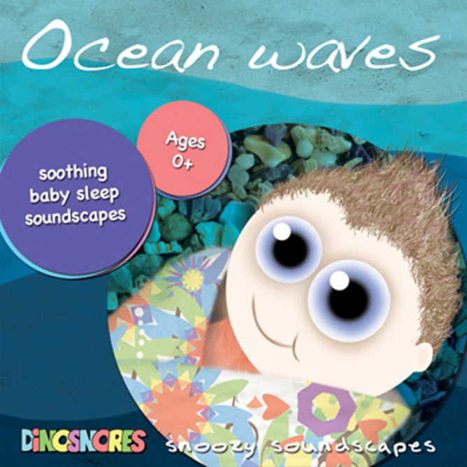 Dinosnores – Sleepy Stories CD Ocean Waves - STEAM Kids Brisbane