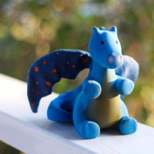 Tikiri Magical Midnight Dragon Teether - STEAM Kids Brisbane
