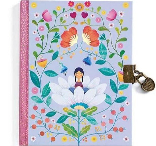 Djeco Marie Secret Notebook - STEAM Kids Brisbane