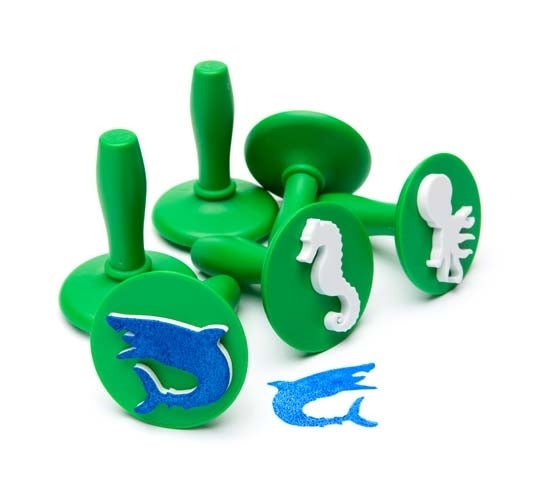 Paint & Dough Stampers Sealife (set of 6) - STEAM Kids Brisbane