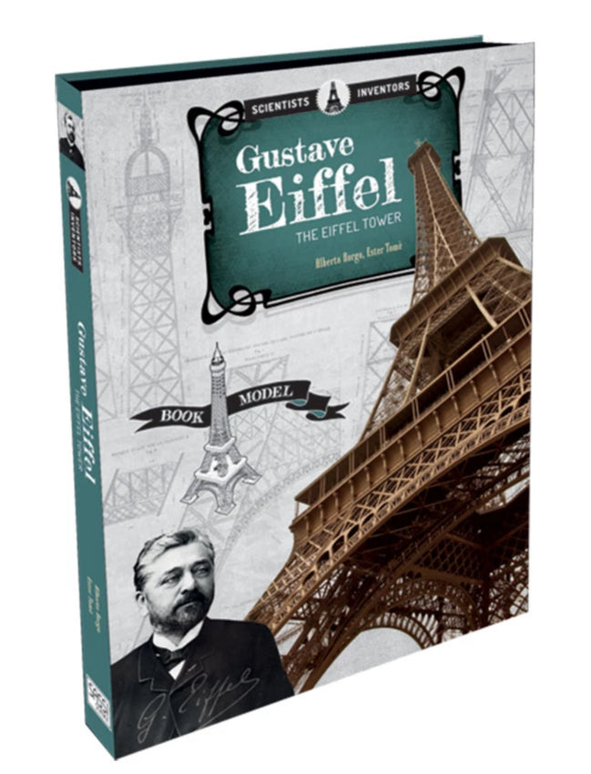 Sassi Gustave Eiffel. The Eiffel Tower Book and Model - STEAM Kids Brisbane