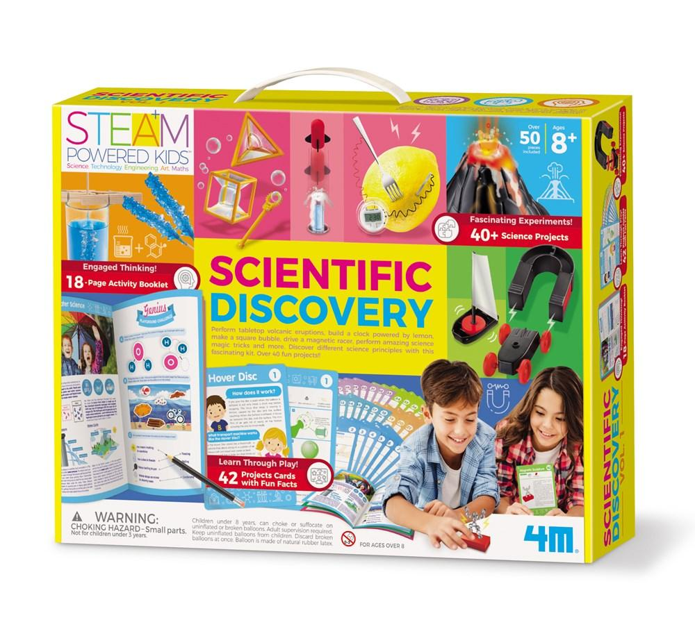 Scientific Discovery Kit | 4M | - STEAM Kids Brisbane