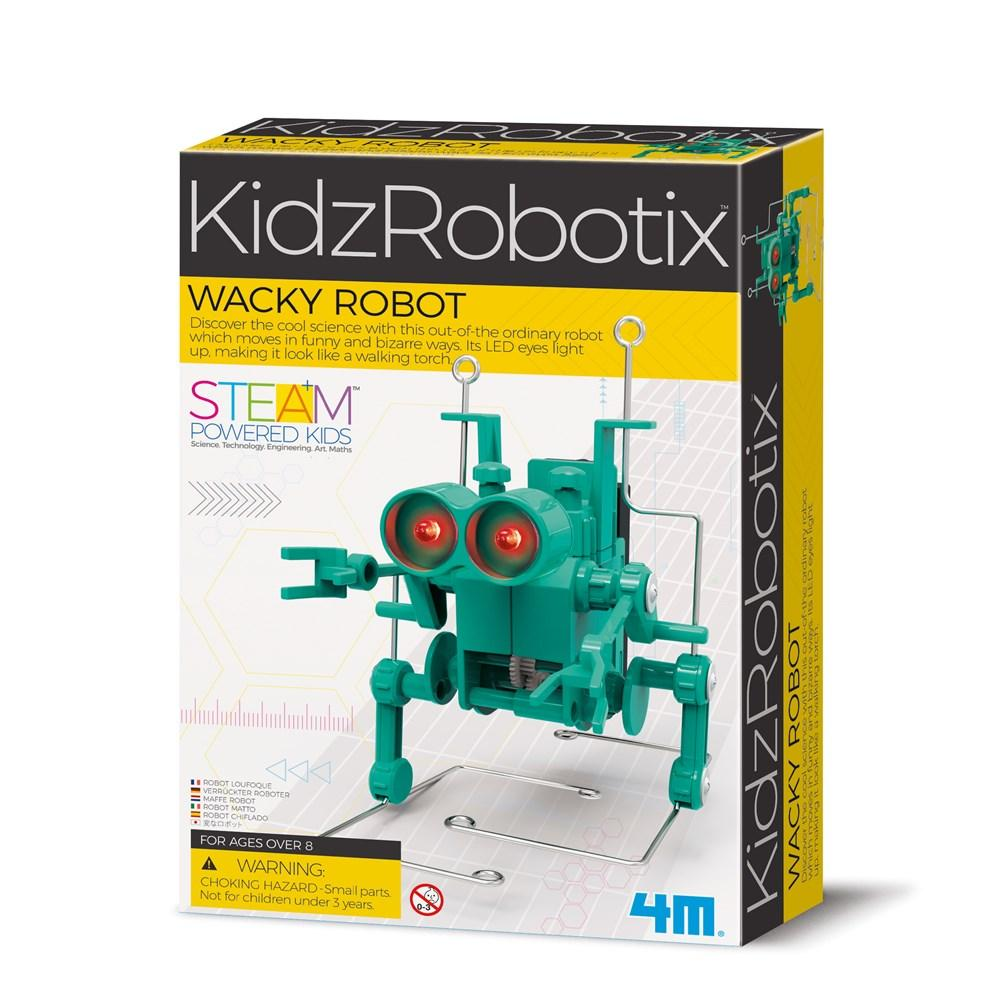 Kidzrobotix Wacky Robot by 4M - STEAM Kids