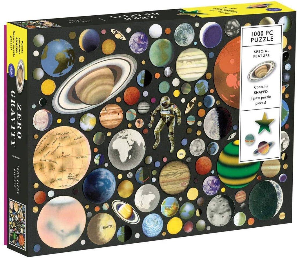 Galison Zero Gravity 1000 Piece Puzzle - STEAM Kids Brisbane