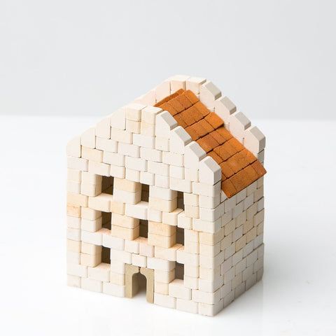 Wise Elk Mini Bricks Hairdresser Townhouse