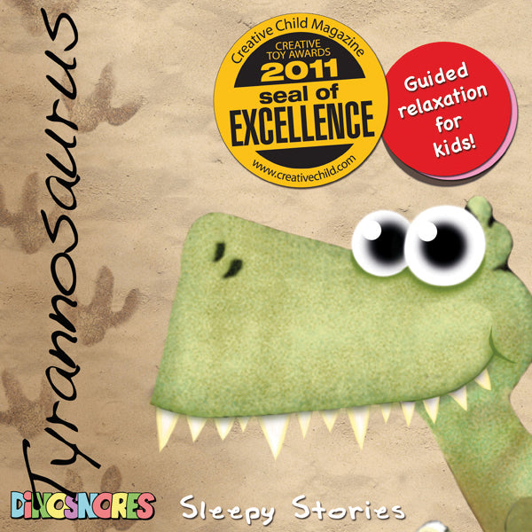 Dinosnores – Sleepy Stories CD Tyrannosaurus - STEAM Kids Brisbane