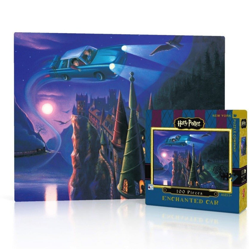 Harry Potter: The Enchanted Car Mini Puzzle - STEAM Kids Brisbane