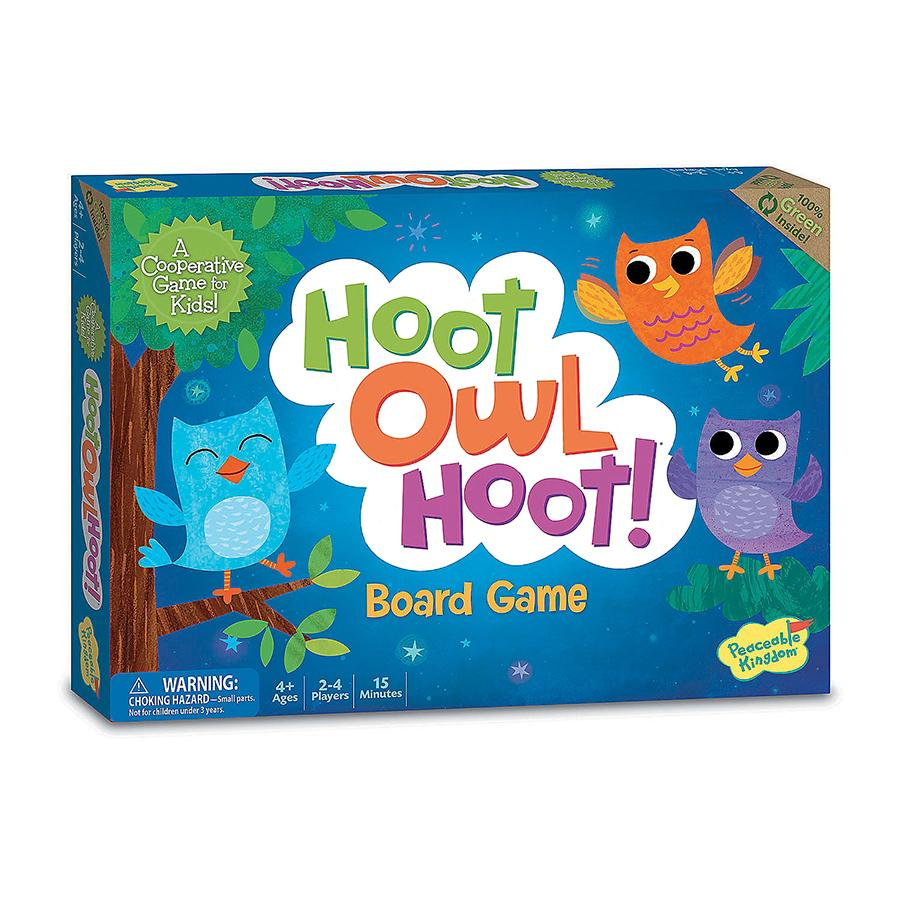 Peaceable Kingdom Hoot Owl Hoot Board Game - STEAM Kids Brisbane