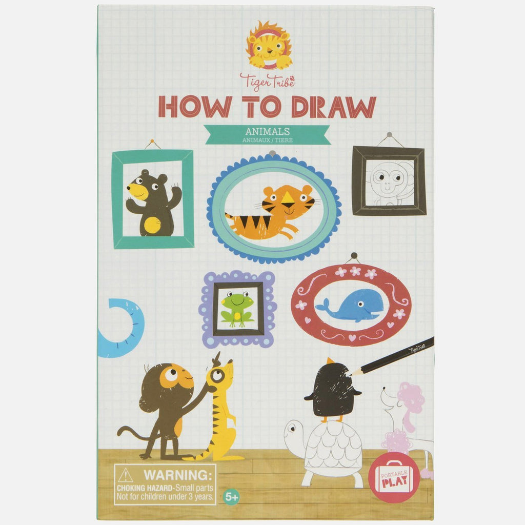 Tiger Tribe How to Draw Animals Kit - STEAM Kids Brisbane