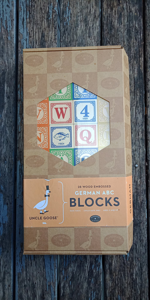 Uncle Goose Classic German Blocks (Seconds discounted product) - STEAM Kids Brisbane