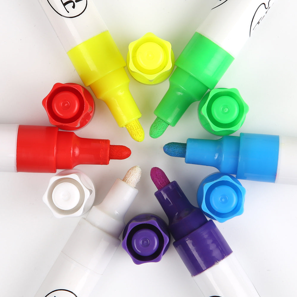Liquid Chalk Markers | 6 Colour set - STEAM Kids