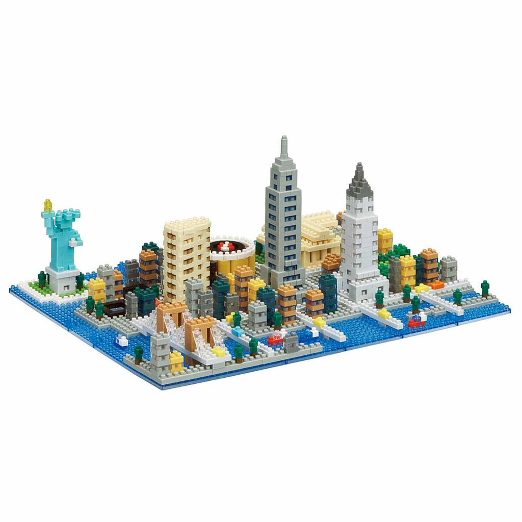 New York City Deluxe Nanoblock - STEAM Kids Brisbane