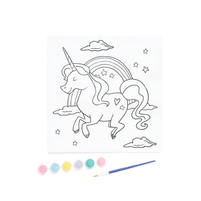 KaiserKids Canvas - Paint a Unicorn - STEAM Kids Brisbane