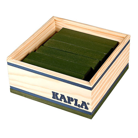 Kapla 40 Piece Colour Set: Green