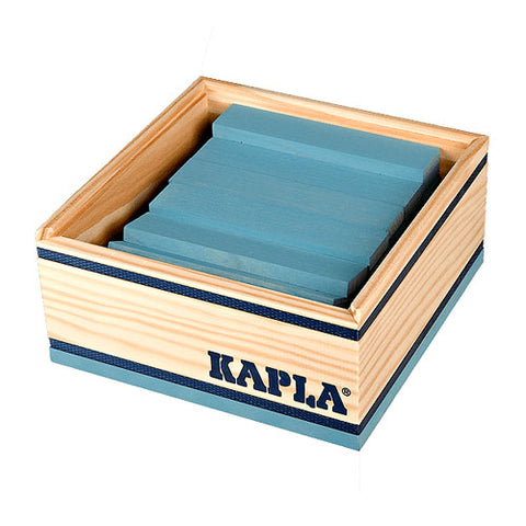 Kapla 40 Piece Colour Set: Light Blue - Flying Fox Shop Brisbane