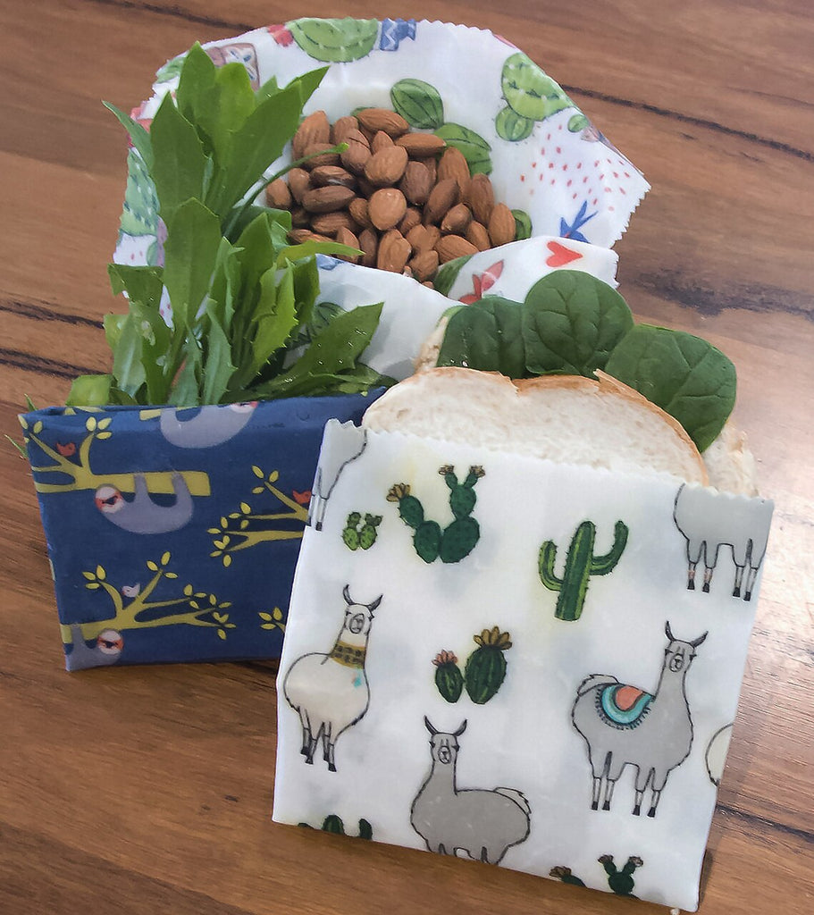 Make Your Own Beeswax Wraps by Huckleberry - Sloths & Llamas - STEAM Kids Brisbane