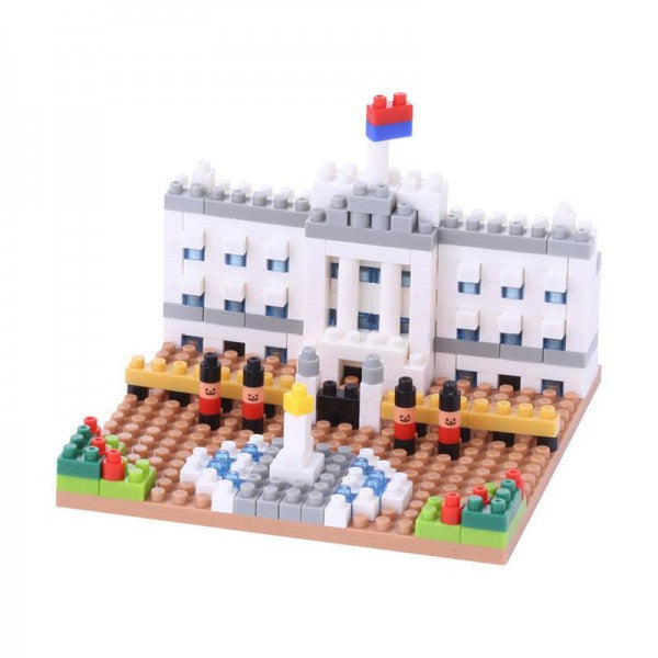 Buckingham Palace Nanoblock NBH104 - STEAM Kids Brisbane