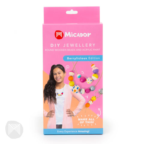 Micador DIY Jewellery Kit Berrylicious - STEAM Kids Brisbane