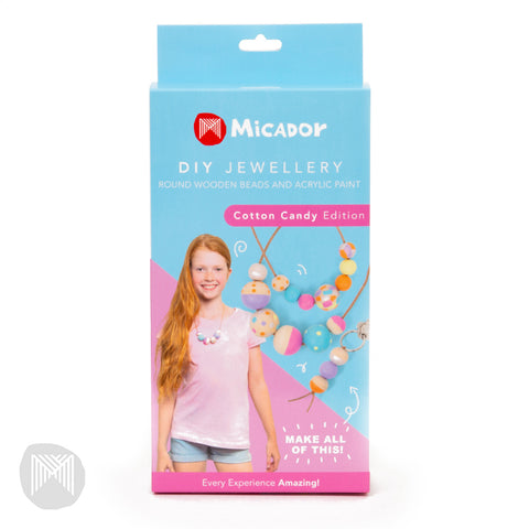 Micador DIY Jewellery Kit Cotton Candy - STEAM Kids Brisbane