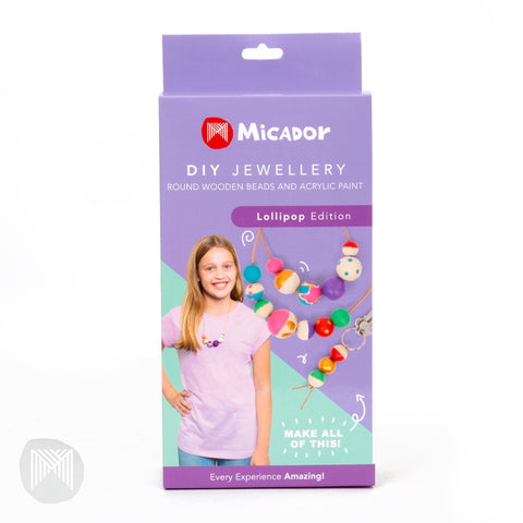 Micador DIY Jewellery Kit Lollipop