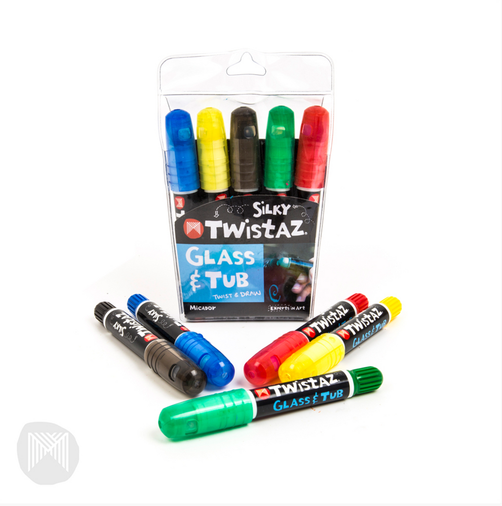 Micador Twistaz - Glass and Bath markers - STEAM Kids Brisbane