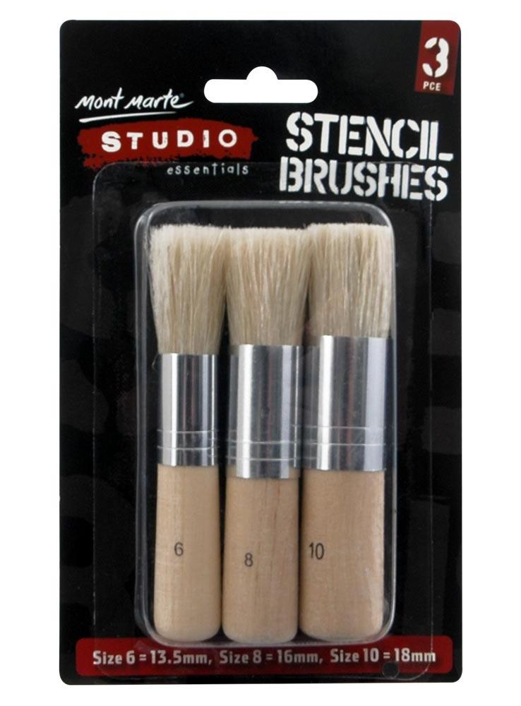 Studio Stencil Brushes - STEAM Kids Brisbane
